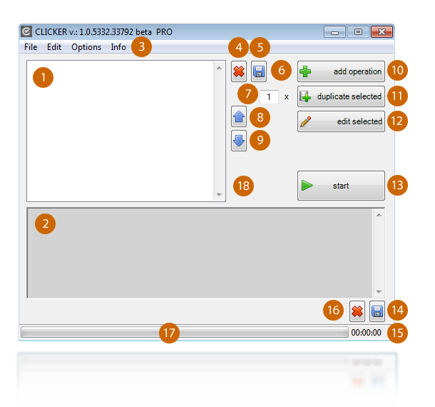 Specification - program elements